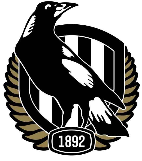 Collingwood Football Club LOGO 2