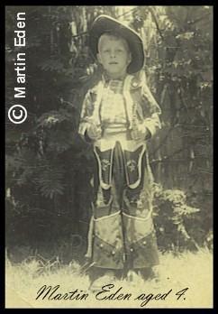 Martin Eden aged 4